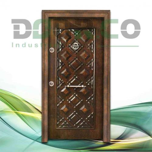 درب ضد سرقت برجسته کلاسیک کد 3205
