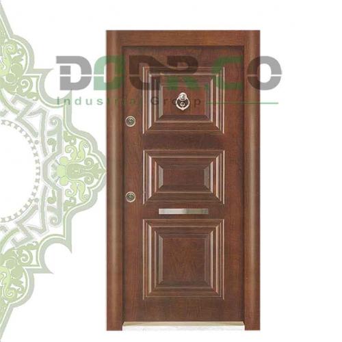 درب ضد سرقت نیم برجسته کد 3306