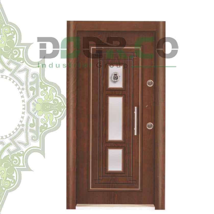 درب ضد سرقت نیم برجسته کد 3317