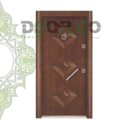 درب ضد سرقت نیم برجسته کد 3322