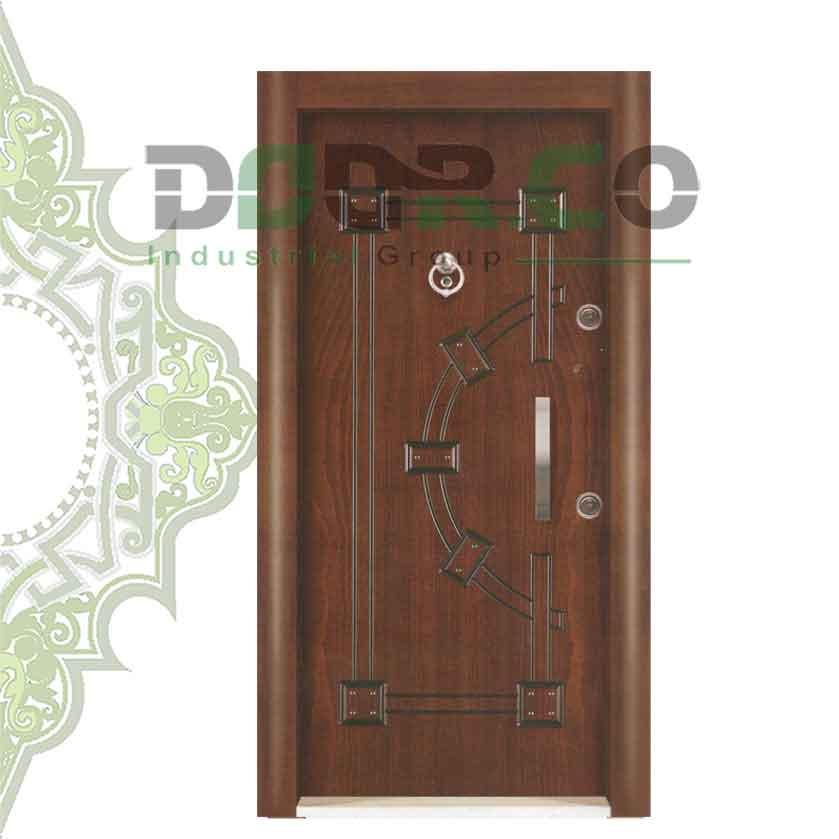 درب ضد سرقت نیم برجسته کد 3323