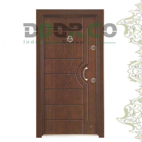 درب ضد سرقت رستیک پنل کد 3614