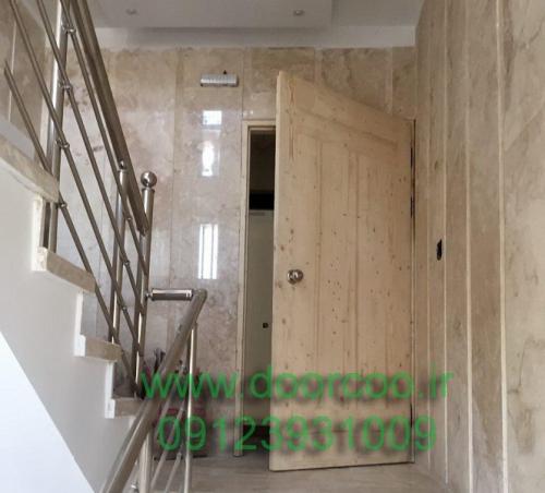 درب ضد حریق چوبی