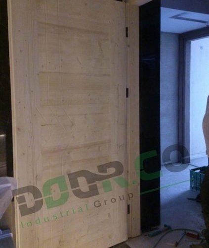 درب ضد حریق چوبی WFR03