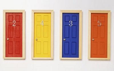 رنگ درب منزل