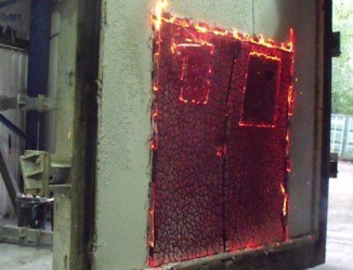 درب ضد حریق مورد تایید آتش نشانی