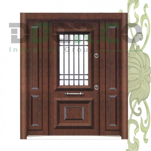 درب ضد سرقت سه لنگه کد 3813
