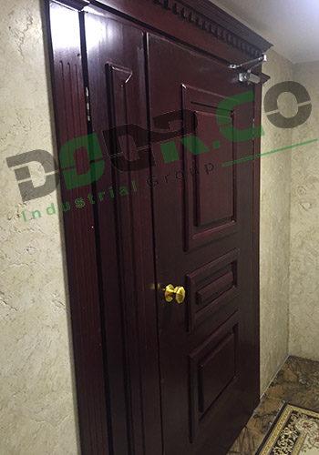 درب ضد حریق چوبی WFR06